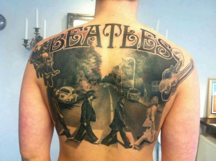21 best images about beatles tattoos on pinterest first for Beatles tattoo abbey road
