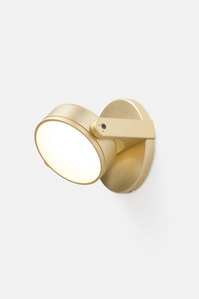 Monocle Wall Sconce - Flat Lens