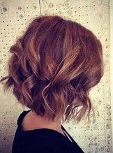 Image result for inverted hairstyles wavy