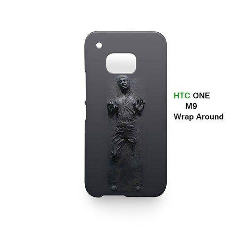 Han Solo Frozen Door Decal Star Wars Case for HTC One M9
