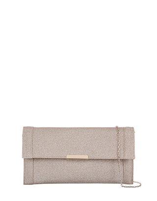 Katie Glitter Clutch Bag
