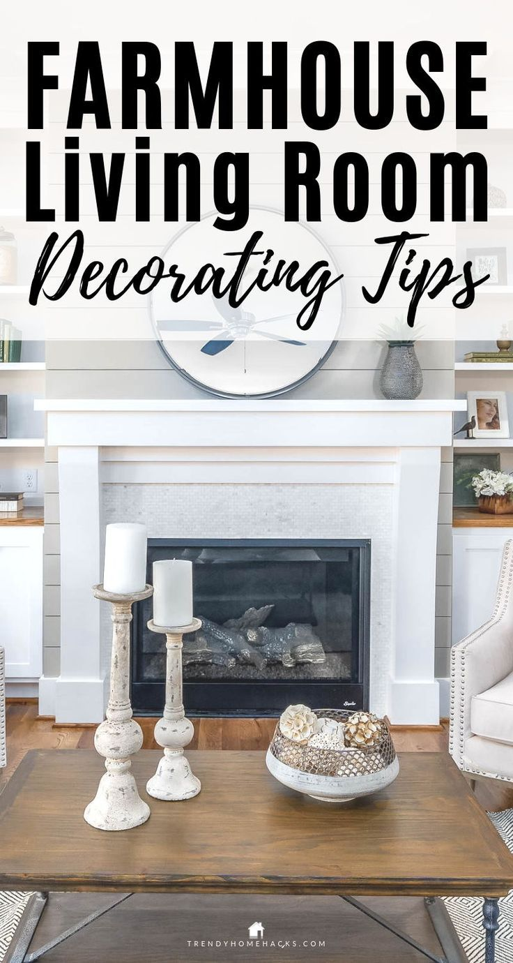 Find Out How To Get The Farmhouse Style Living Room Visit