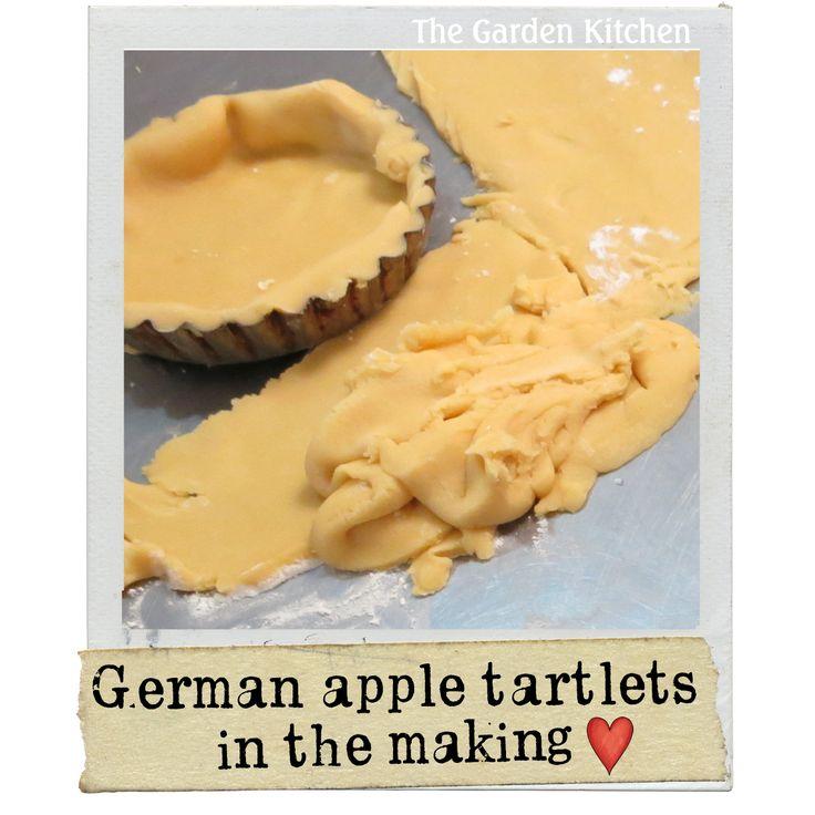 German apple tartlets   The Garden Kitchen