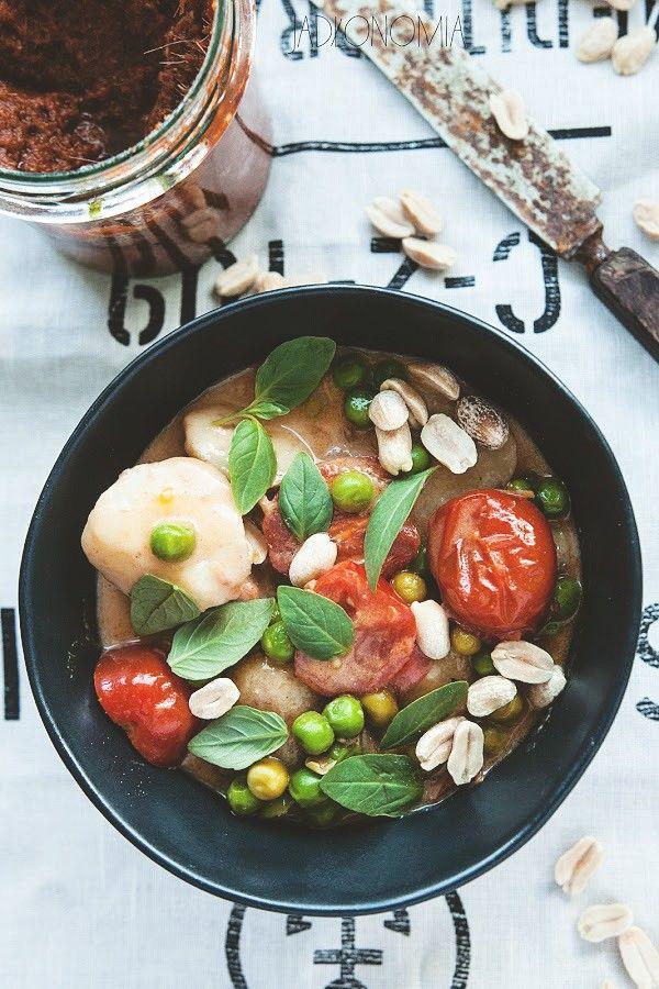 curry z młodych ziemniaków + przepis na pastę curry (masala)