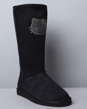 Hello Kitty - MEADOW HELLO KITTY BOOTS    My daughter would love these!