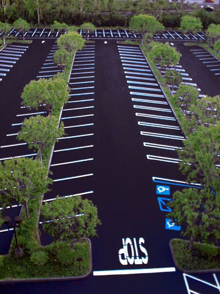 10 best images about parking lot striping on pinterest for Best parking near lax