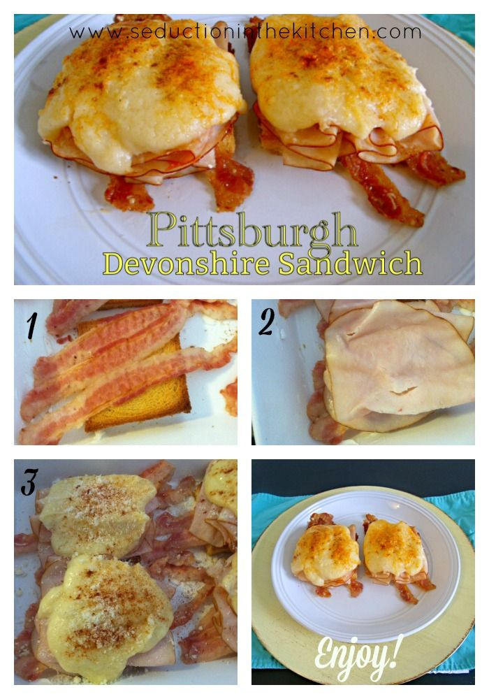 #SundaySupper Pittsburgh Devonshire Sandwich. Open Faced Sandwich Made In  Pittsburgh, PA, From