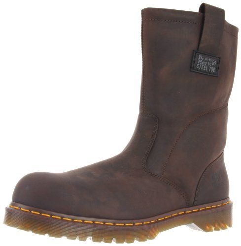 Dr. Martens Men's Icon Industrial Strength Steel Toe Boot ,Gaucho,12 UK/13 M US - http://authenticboots.com/dr-martens-mens-icon-industrial-strength-steel-toe-boot-gaucho12-uk13-m-us/
