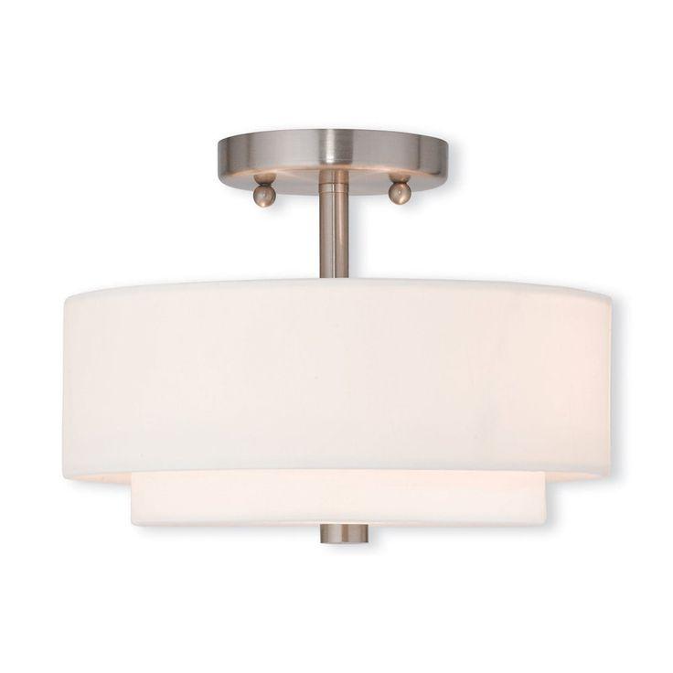 Livex Lighting 5104 Claremont Semi Flush Ceiling Light | ATG Stores