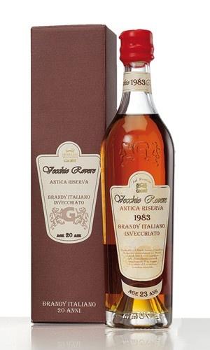 $85,00 Vecchio Rovere - Italian brandy aged 25 years.