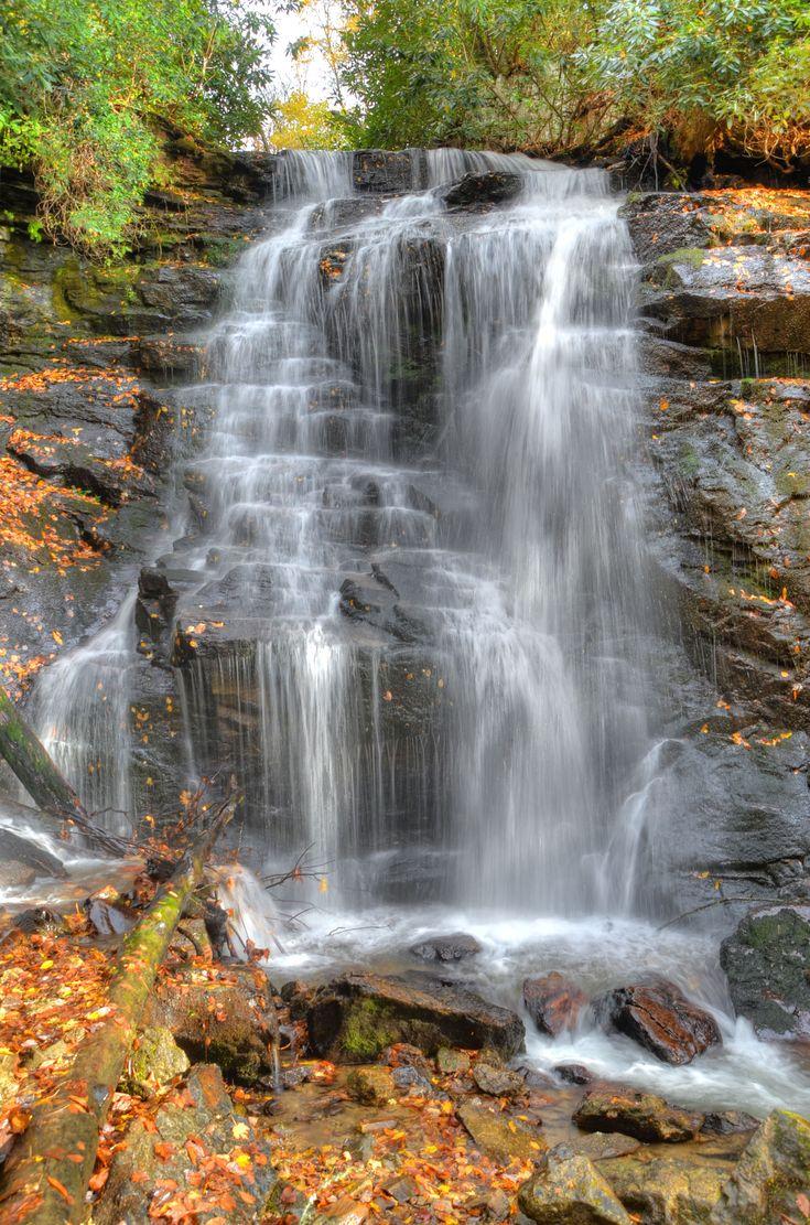 Soco Falls, near Cherokee, North Carolina
