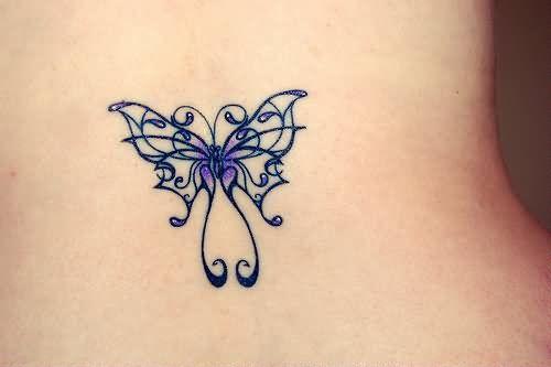 Beautiful Butterfly Tattoo Design For Girls - Butterfly Tattoo Designs