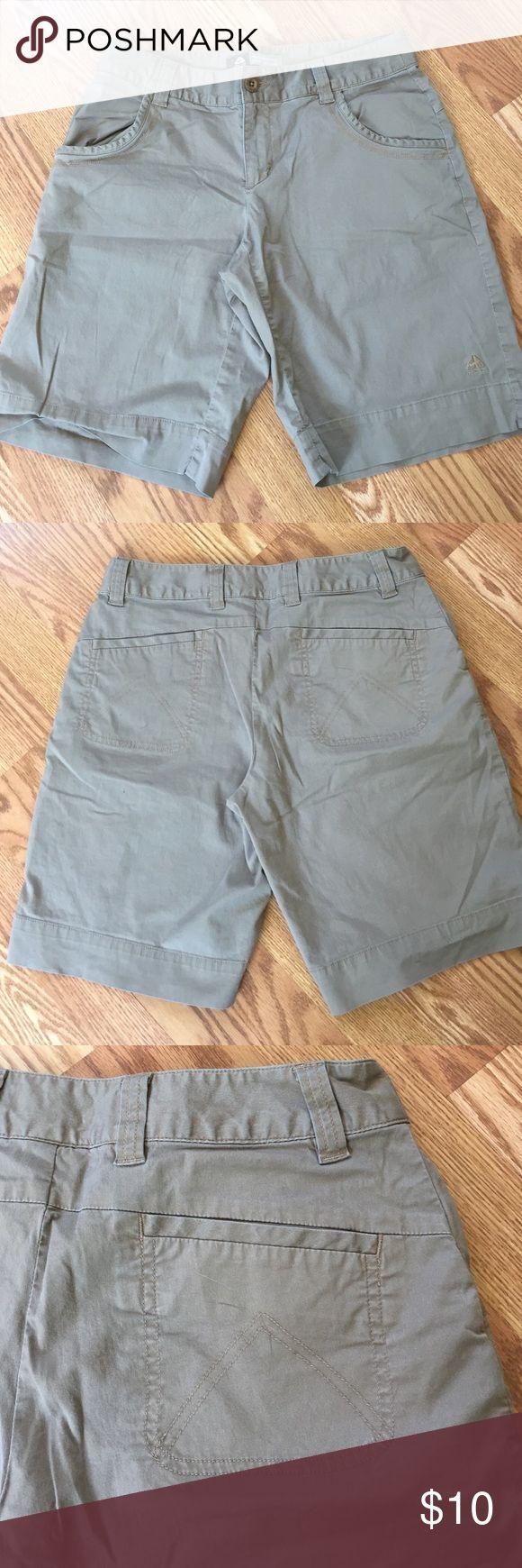 Nike shorts. Good for hiking. Bermuda length. Size 4. Casual walking or hiking shorts. Nike Shorts Bermudas