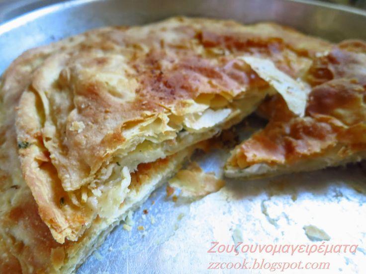 Τυρόπιτα με εύκολο σπιτικό φύλλο! http://zzcook.blogspot.gr/2014/03/blog-post_6.html