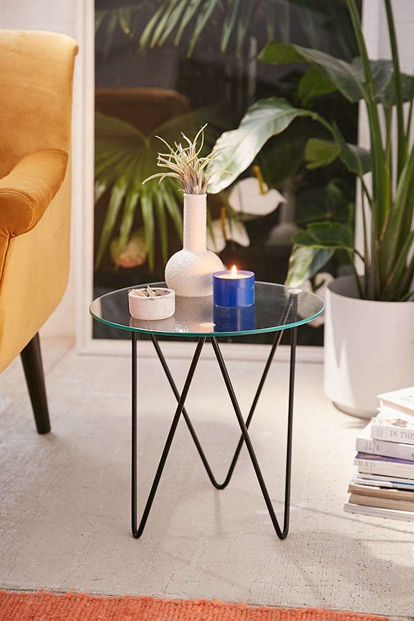 Anderson Glass Side Table Glass Side Tables Cute Home Decor Decor