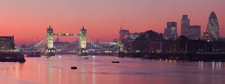 The Tower Bridge and the Thames, London http://thesaltybloom.blogspot.it