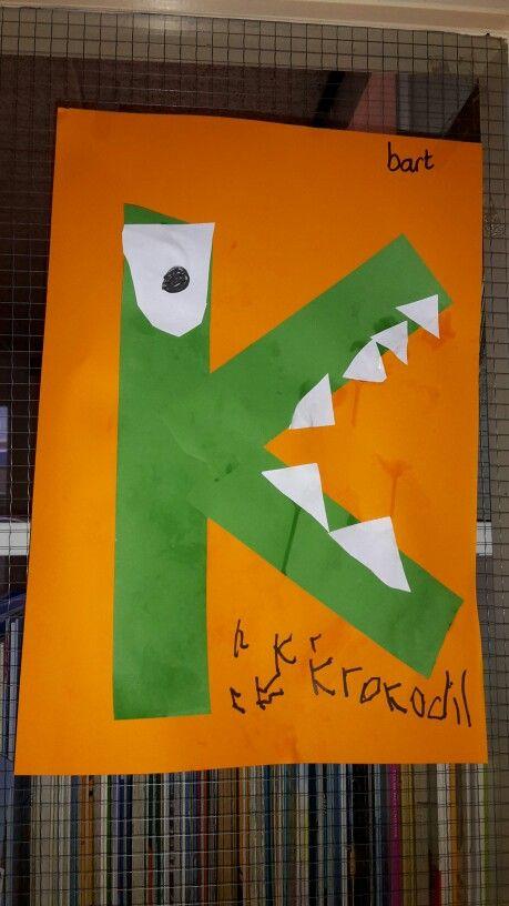 De k van Krokodil
