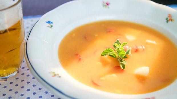 Naše frankfurtská polévka