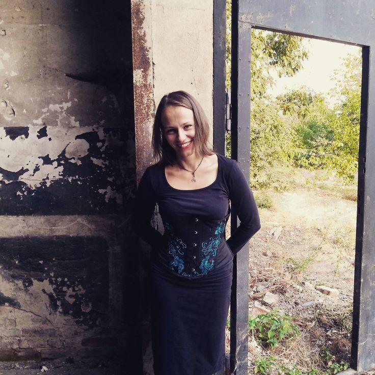 Secret Window #window #industrial #corset #smile