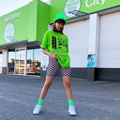 yeah i'll fix ur tyres biker shorts from Dolls Kill #dollskill  – тσ ωєαя