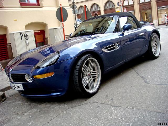 BMW Alpina Z8. Not quite a roadster not quite a super car?