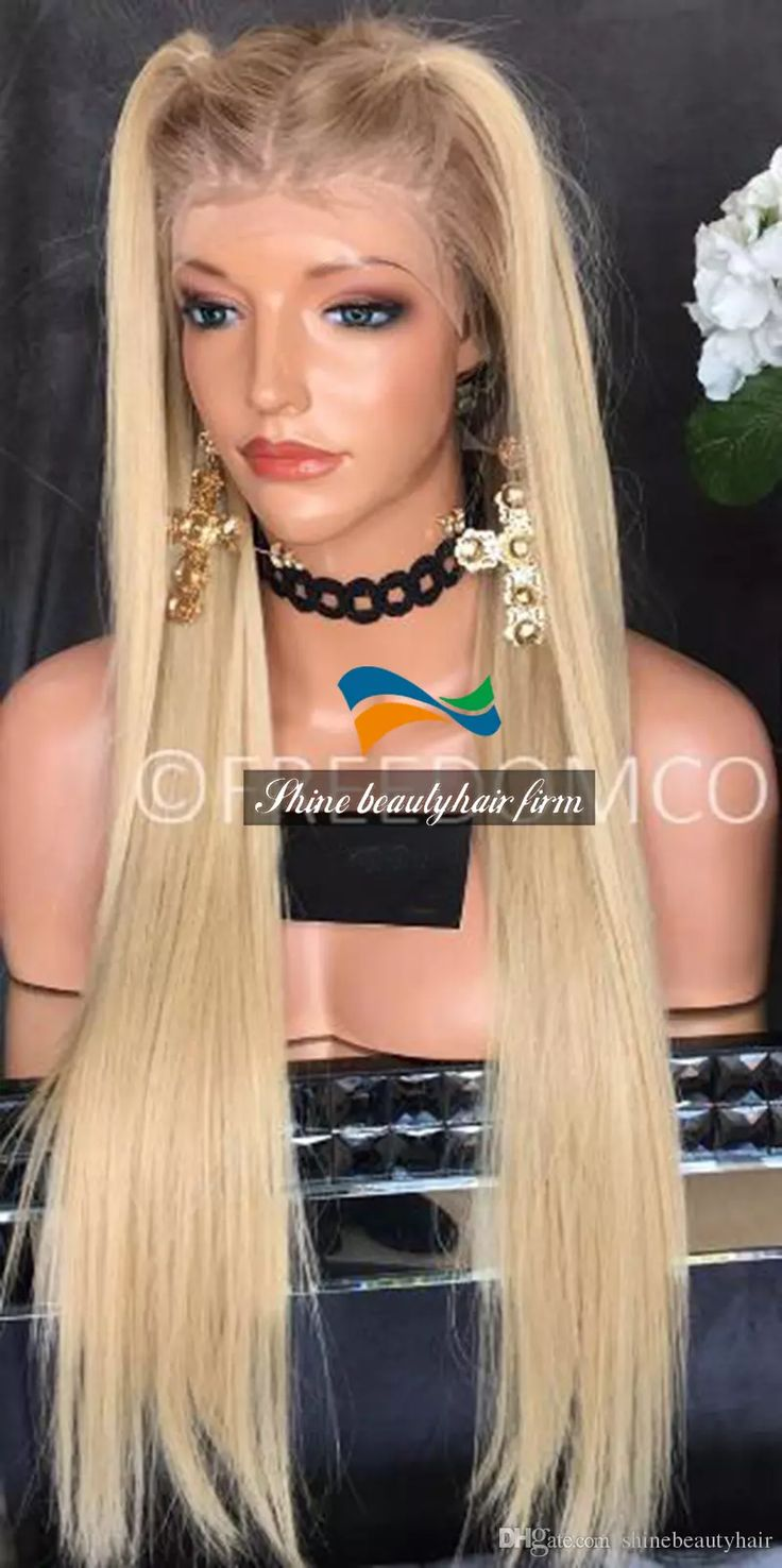 Have you found the right hair premium virgin remy hair blonde silk top glueless full lace wigs 150% density brazilian hair blonde straight lace front wigs with dark roots you need? shinebeautyhair provides gorgeous and useful custom full lace wigs, full lace wig uk and brazilian lace wigs here in our shop. Just come and find what you need.