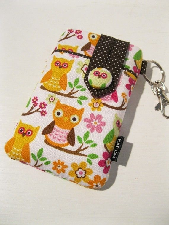 Fabric iPhone Case iPod case Smartphone case Small by KapomCrafts, $21.00
