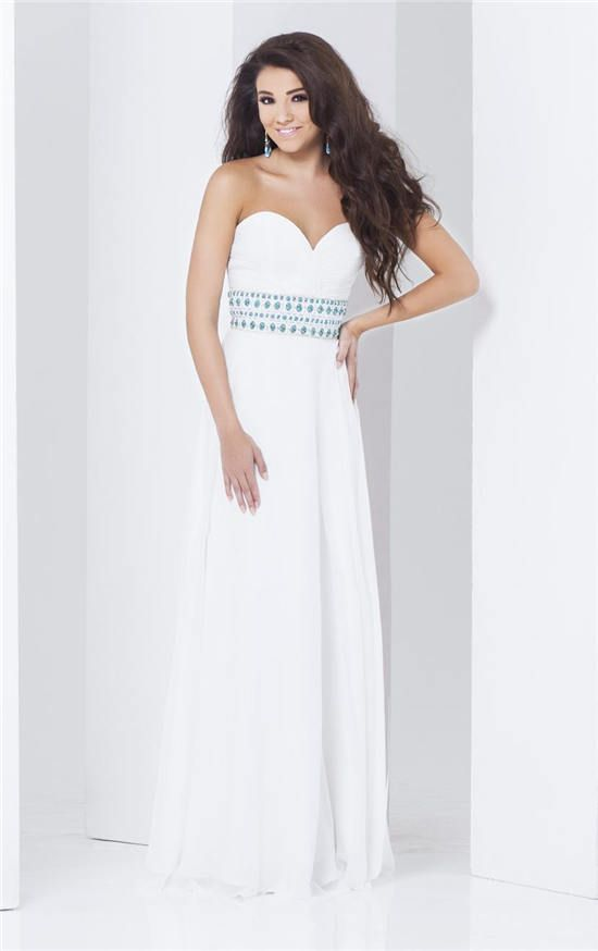 54 best long white prom dresses 2015 images on pinterest