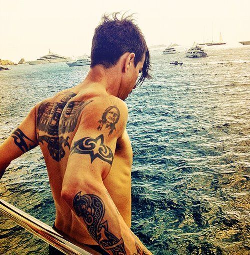 Anthony, the reason I wanted tattoos in the first place. RHCP, inspire me to get my first tatt @ she 18