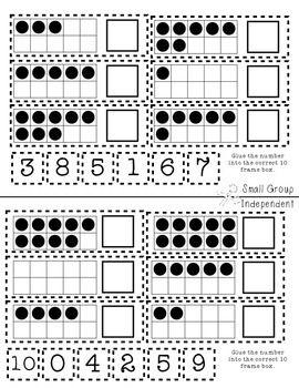kindergarten math journal interactive