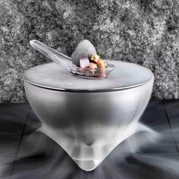 3 Michelin starred chef Alvin Leung's recipe for Mackerel, Sesame Mayo and Ponzu Foam | FOUR Magazine