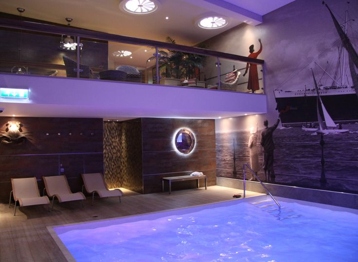Pool and relaxation area Voyage Spa, Thurlestone Hotel