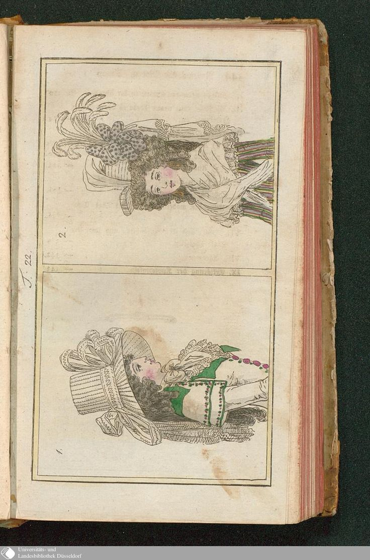 Journal des Luxus und der Moden, Tafel 22, August 1788.