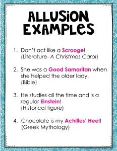 Allusion Examples For Kids