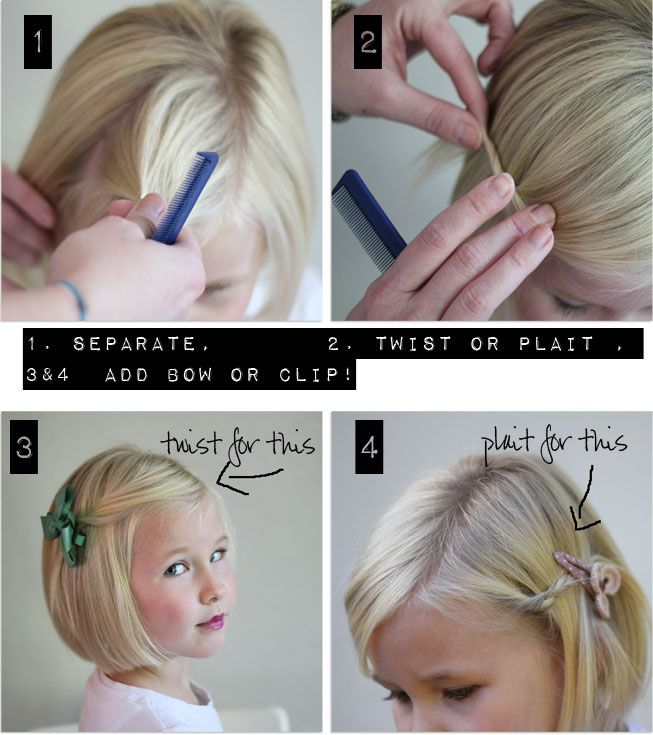 Amazing 1000 Images About Little Girl Hair Styles On Pinterest Little Short Hairstyles Gunalazisus