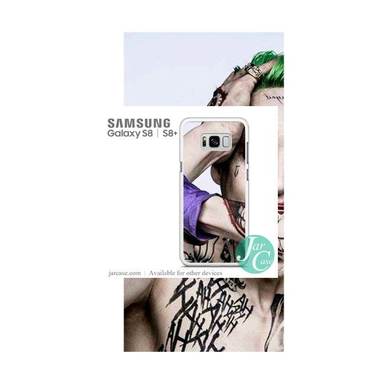 The Joker Jared Letto Phone Case for Samsung Galaxy S8 & S8 Plus