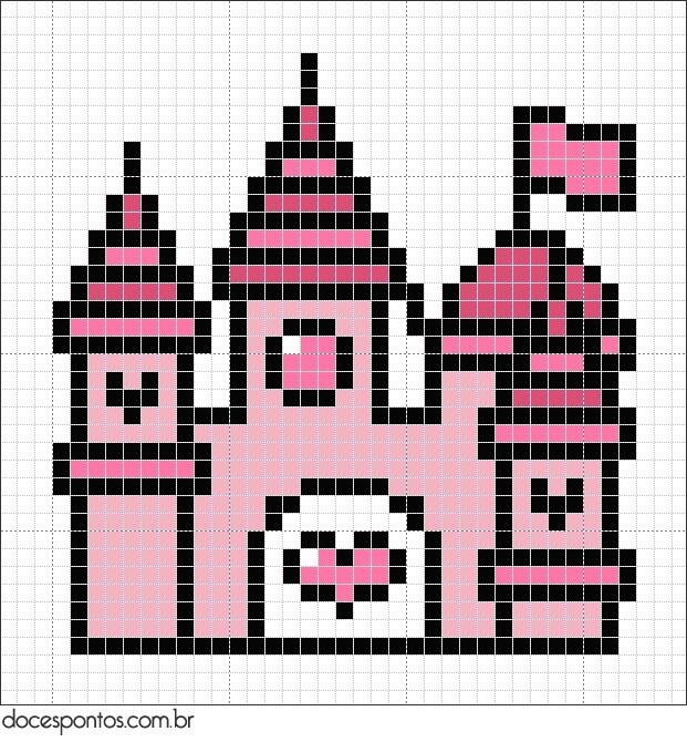 Pink Castle pattern