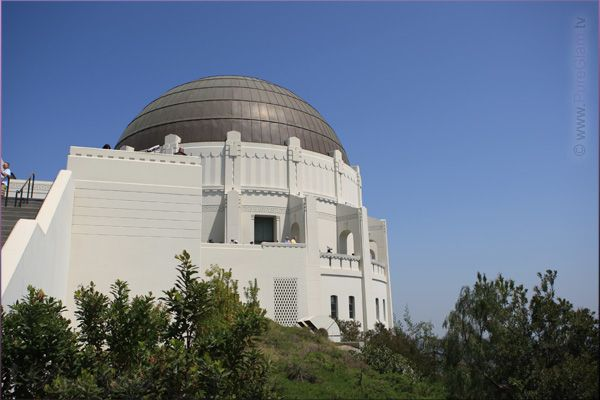 Scenic Los Angeles - beautiful Griffith Observatory - Los Angeles, LA, California, USA