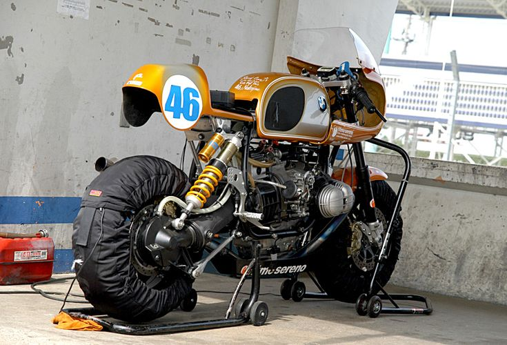 BMW R80 racer by Ritmo Sereno, Japan 2007.