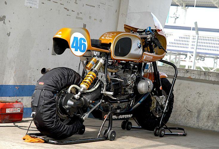 BMW R80 racer by Ritmo Sereno, Japan 2007.