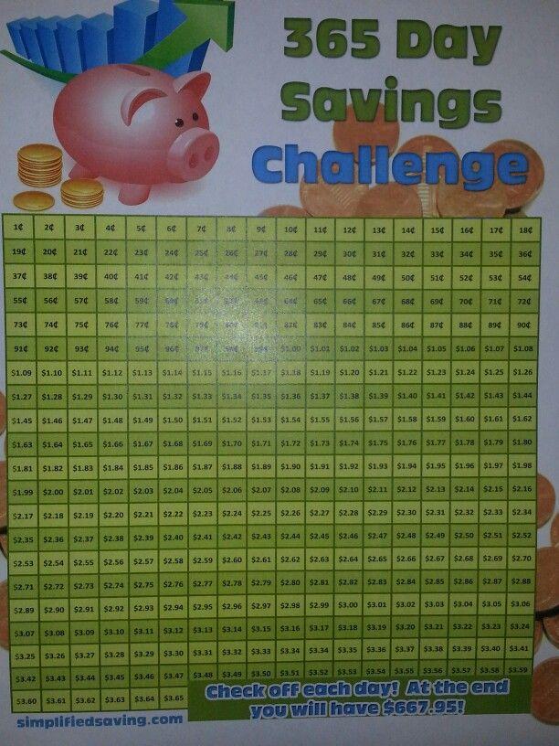 365 penny challenge