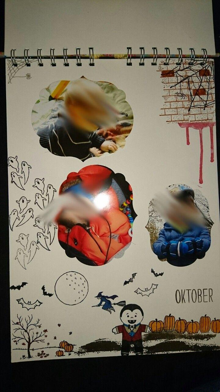 Kalender, Oktober, Stampin Up