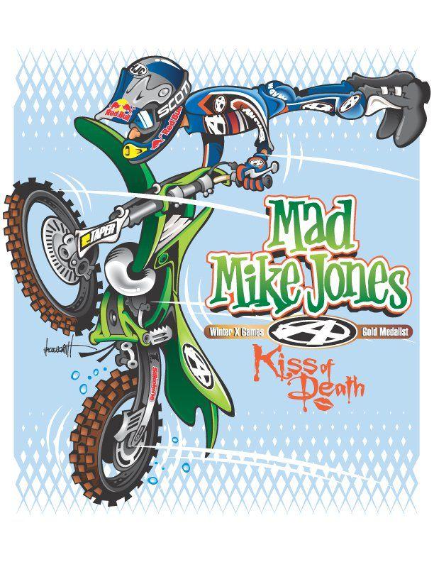 Motocross Cartoons | Motocross Tracks Locator