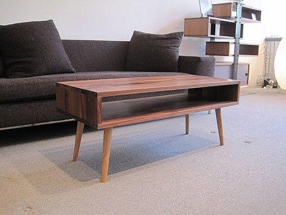 mid century modern table
