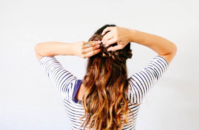 How to Do a Half Crown Braid   eHow