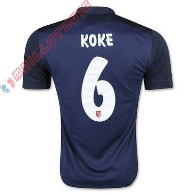 Nouveau maillot de foot KOKE Atletico Madrid extérieur 2016