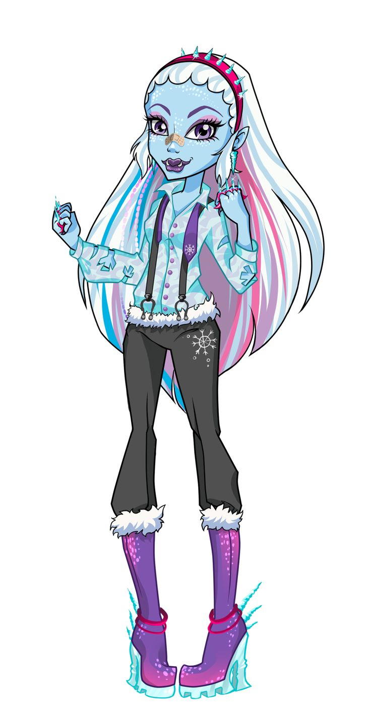 Uncategorized Abby Monster High 103 best monster high abbey bominable images on pinterest i decided to make a collection in the style of this presents us monsters mafia spectra informer
