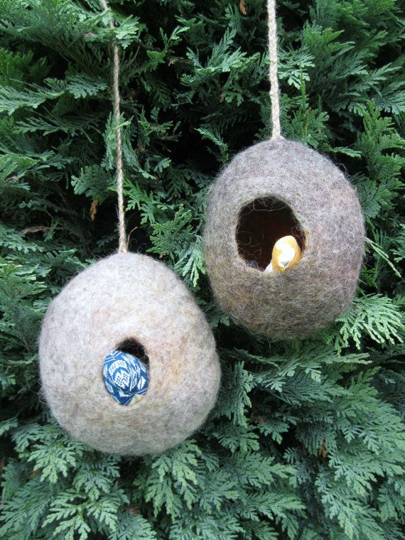bird pod house eco friendly hand felted british wools by. Black Bedroom Furniture Sets. Home Design Ideas
