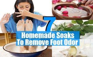 Soaks To Remove Foot Odor