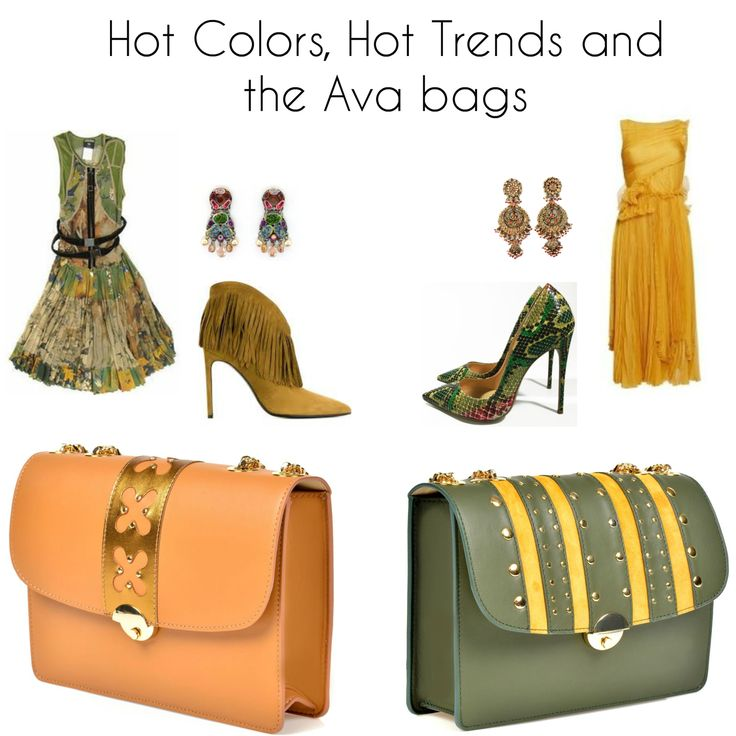Vibrant colors and creativity! Find spring's hottest trends in Wild Inga's new leather bags collection.